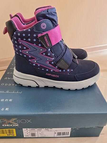 Зимние ботинки джеокс Geox Sveggen 36 р