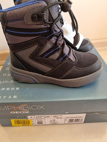 Зимние ботинки джеокс Geox Sveggen 28,30,31,32 р