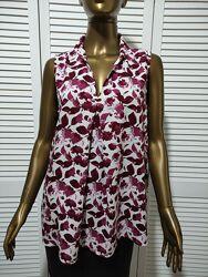 Блузка без рукавов из вискозной ткани Tom Tailor
