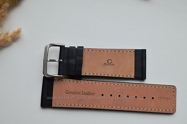 Ремешок для часов Condor из натуральной кожи 23 мм