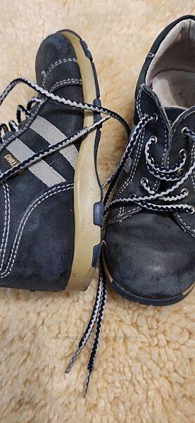 Детские ботинки кожаные на осень