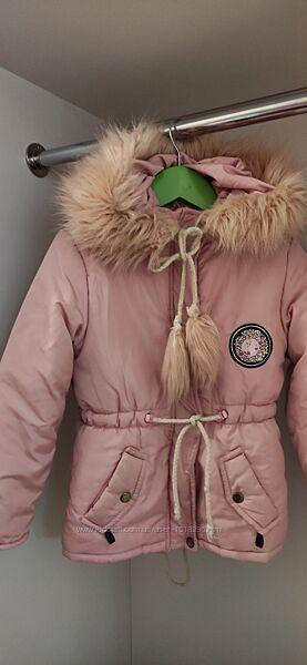 Детская зимняя курточк