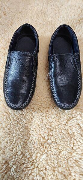 Туфли для мальчика кожане