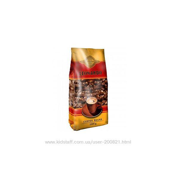 Кофе в зернах Leonardo  UCC - 1 КГ.
