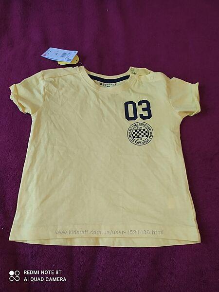 Новая футболка котон Reserved 86/92/98