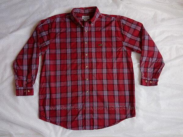 Стильная рубашка Л/ХЛ размера в клетку мужская Carhartt