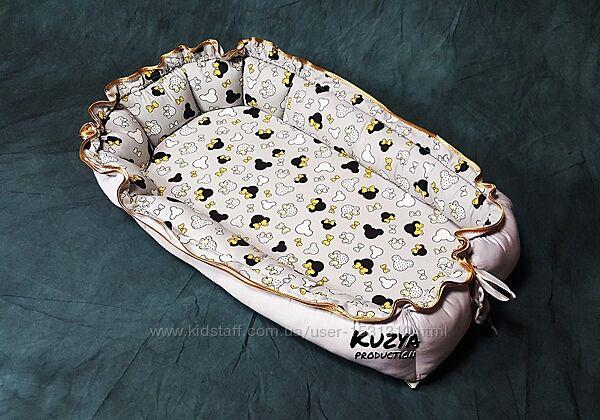 Кокон гнездышко для детей Kuzya Production