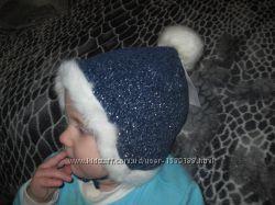 Новая шапочка немецкой фирмы Baby club C&A , р. 74, р. 4647