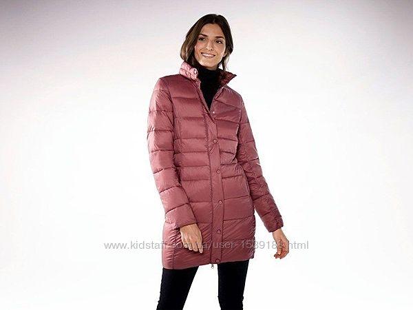 Ультра легкое стеганное термо пальто куртка женская от esmara . евро размер