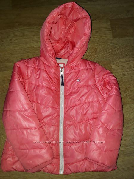 Куртка 5 лет демисезон Tommy Hilfiger фирменная