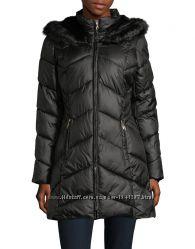 Черная зимняя куртка большой размер