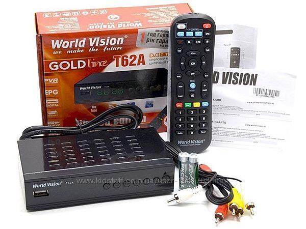 World Vision Foros Combo T2/S2 спутниковый тюнерТ2