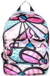 Яркий молодежный рюкзак с отделением для ноутбука или бумаг