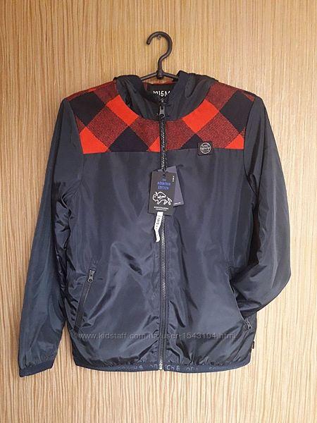 Двухсторонняя куртка-бомбер  Scotch&Soda для мальчика