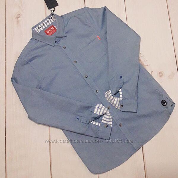 Коттоновая рубашка Scotch&Soda для подростка 12/152