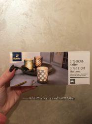 Декоративные подсвечники новогодний романтический декор подарок свеча