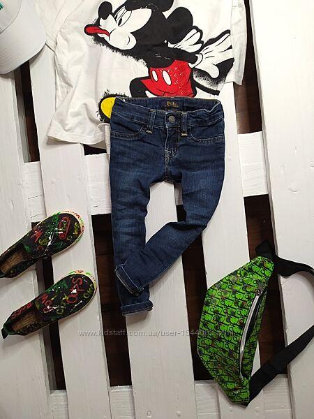 модні завужені джинси Polo Ralph Lauren  2т. ріст 90