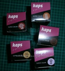 Краска для гладкой кожи  KAPS SUPER COLOR 25 ml  с губкой и кисточкой