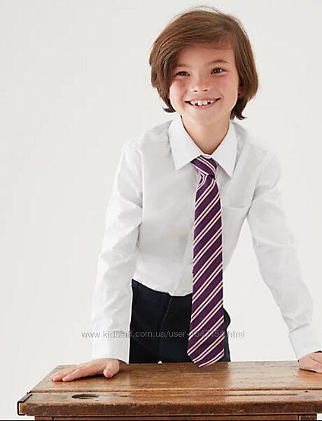 Школьная белая рубашка tu 7л.