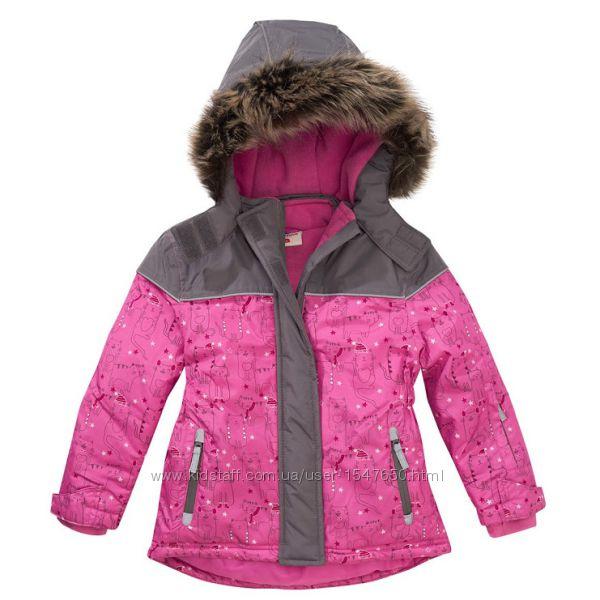 Зимняя лыжная термо куртка на девочку, зима Topolino