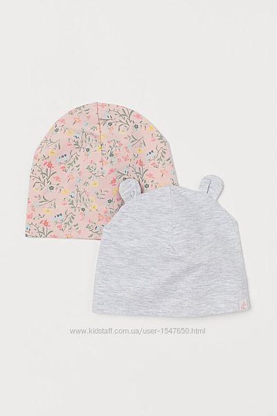 Комплектом шапка на девочку 6 - 12 м. р. 74-80, H&M