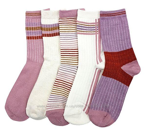 Комплектом блестящие носки на девочек, Primark