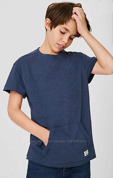 Суперстильная футболка с карманом на мальчика от here there, C&A