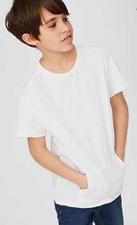 Белая футболка с карманом на мальчика here there by C&A