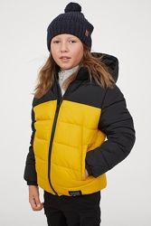 Теплая куртка на мальчика 152, 158 р. H&M