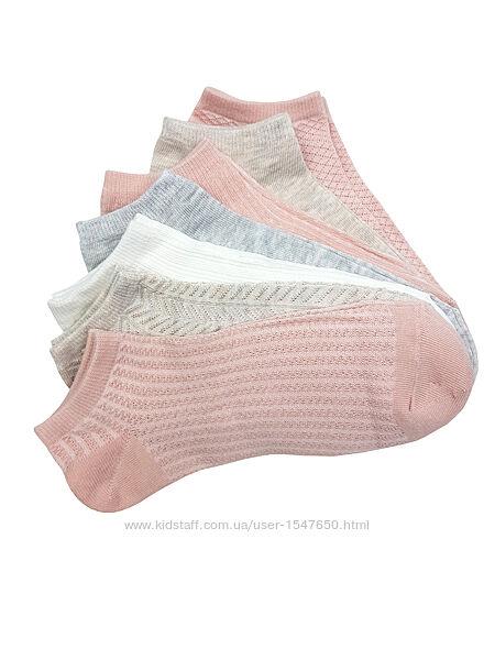 Спортивные низкие, короткие носки сетка, р. 37 - 42, Primark