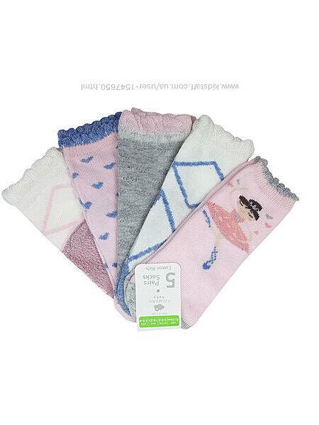 Носки с балериной для девочки 1 - 2 года, primark