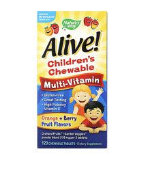 Alive жевательные  мультивитамины для детей  120 шт