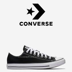 Кеды Converse All Star Оригинал Чёрные Конверсы M9166C