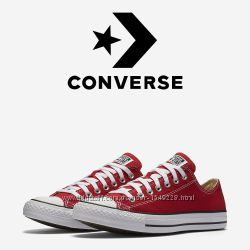 Кеды Converse All Star Оригинал Красные Конверсы M9696C