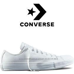 Кеды Converse All Star Белые Кожаные Конверсы 136823C c7cdf10d7334d