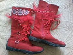 Продам сапоги, ботинки зимние на девочку Tiranitos 35 р.