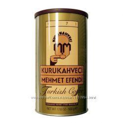 Турецкий кофе Kurukahveci mehmet efendi 500 gr