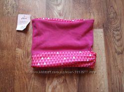 Детский розовый шарф трансформер, 34-25 Ю