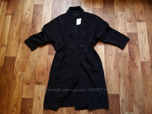 Легкое стильное пальто оверсайз размер М, 34-16 Ю