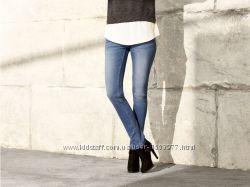 Светло синие женские джинсы скинни размер 42, 36-79 Ю
