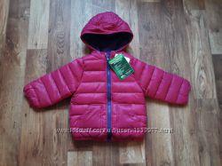 Зимняя розовая курточка размер 74-80, 37-50 Ю