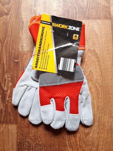 Рабочие перчатки из замшевой кожи размер 8, 39-69 Ю