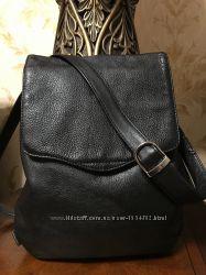 Стильная сумка кроссбоди фирмы Kinsey Англия натуральная кожа