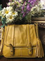 Стильная вместительная сумка Clarks натуральная кожа