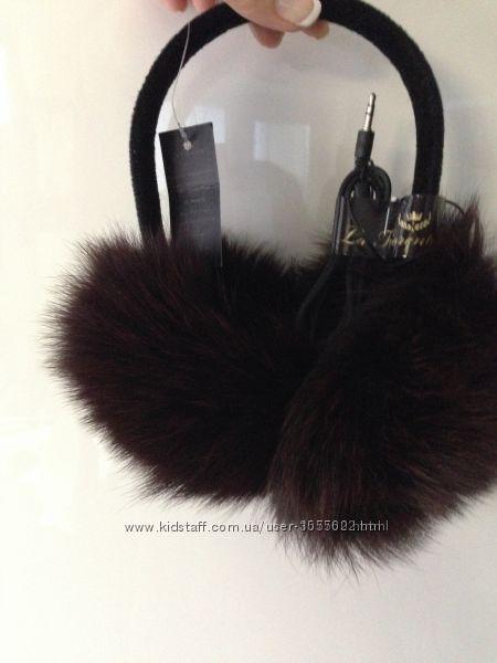 Меховые аудионаушники
