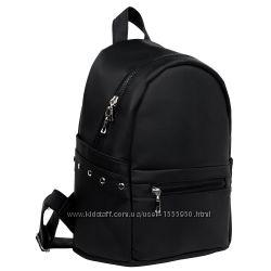 ffba174769b Эксклюзивный женский рюкзак черный для прогулок