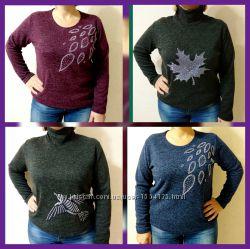 Женские свитера от производителя. Р. 48-58