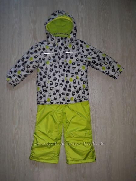 Лыжная, теплая  термокуртка комбенизон на мальчика Германия. от 98 по 110