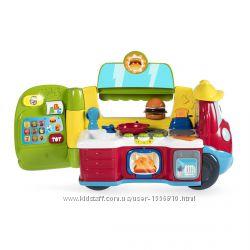 Chicco Кафе Фургон 3в1 машина, кухня, касса