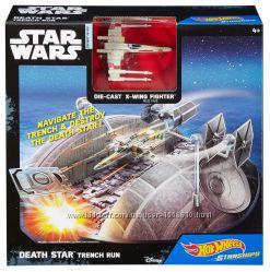 Hot Wheels Star Wars Death Star Trench Runt Play Set Побег